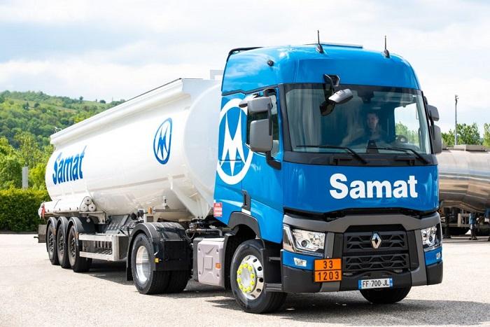 SAMAT truck