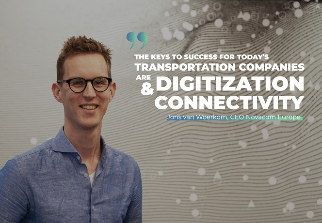 The keys to success for today's transportation companies are digitization and connectivity